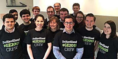 DeHavilland's General Election Crew